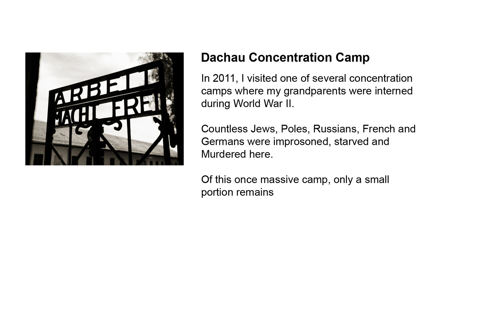Dachau Concentration Camp | Washington DC Photographer Aaron Clamage