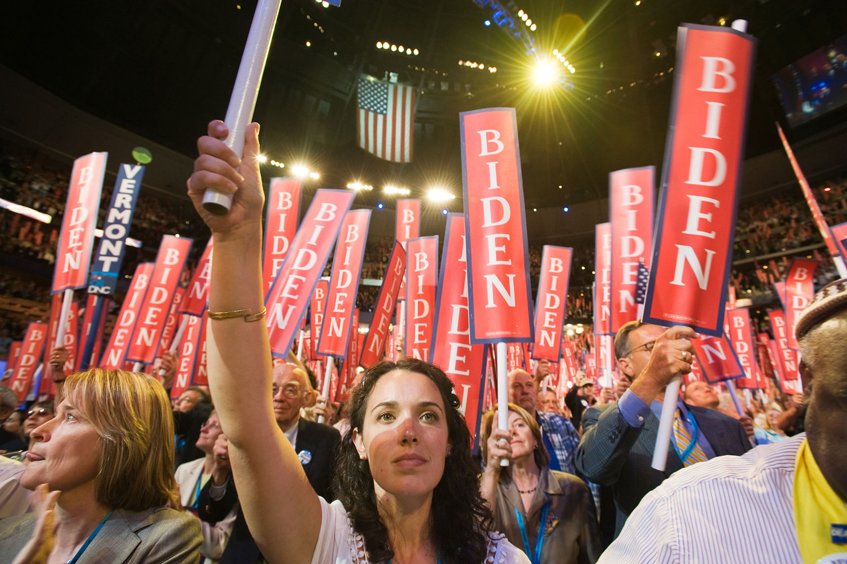 Delegates at the 2008 Democratic National Convention