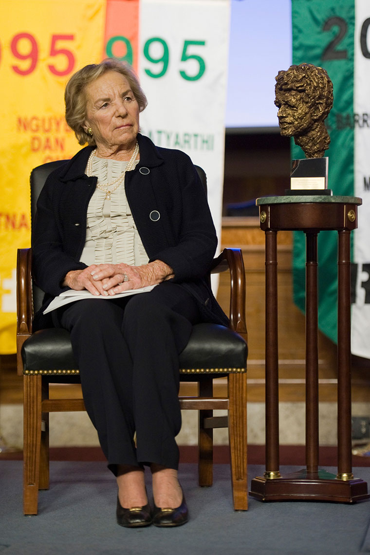 Ethel Kennedy for the Kennedy Center Human Rights Award