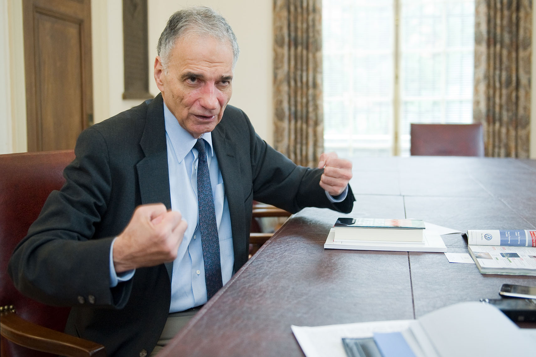 Ralph Nader | Washington DC Photographer Aaron Clamage