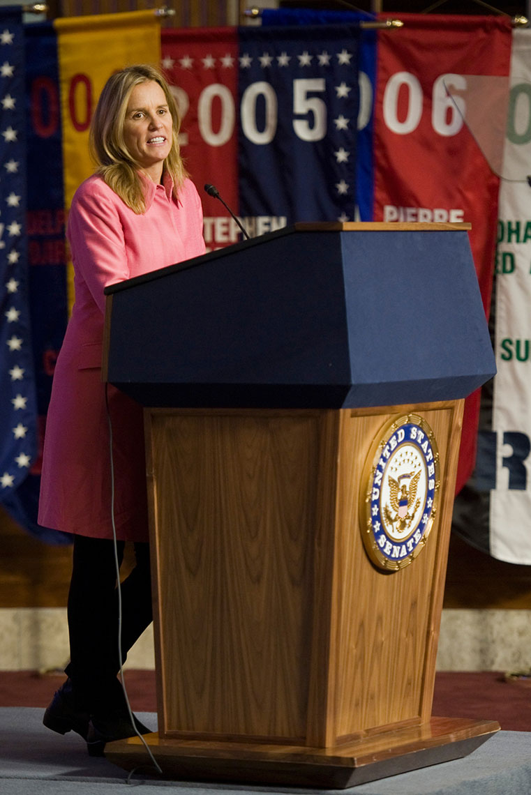 Kerry Kennedy, for the Kennedy Center Human Rights Award