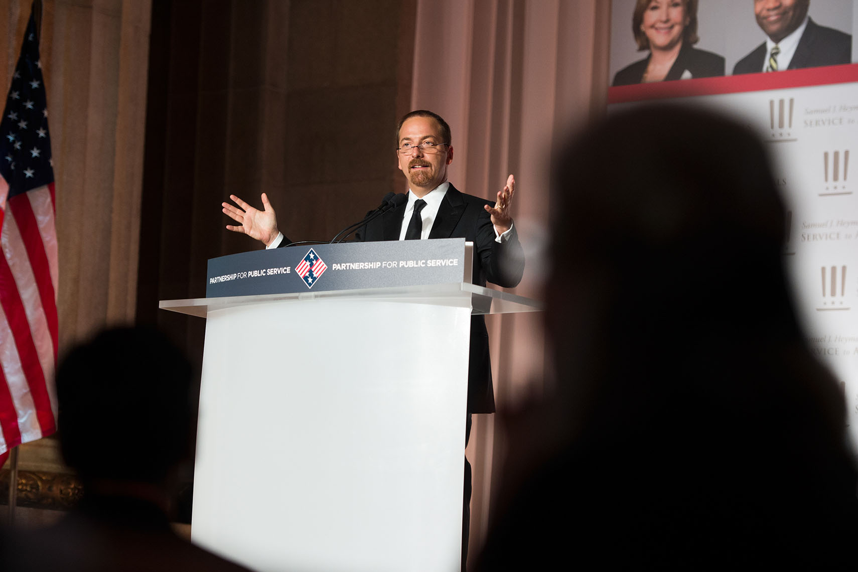 Chuck Todd, at the Sammies Gala 2016
