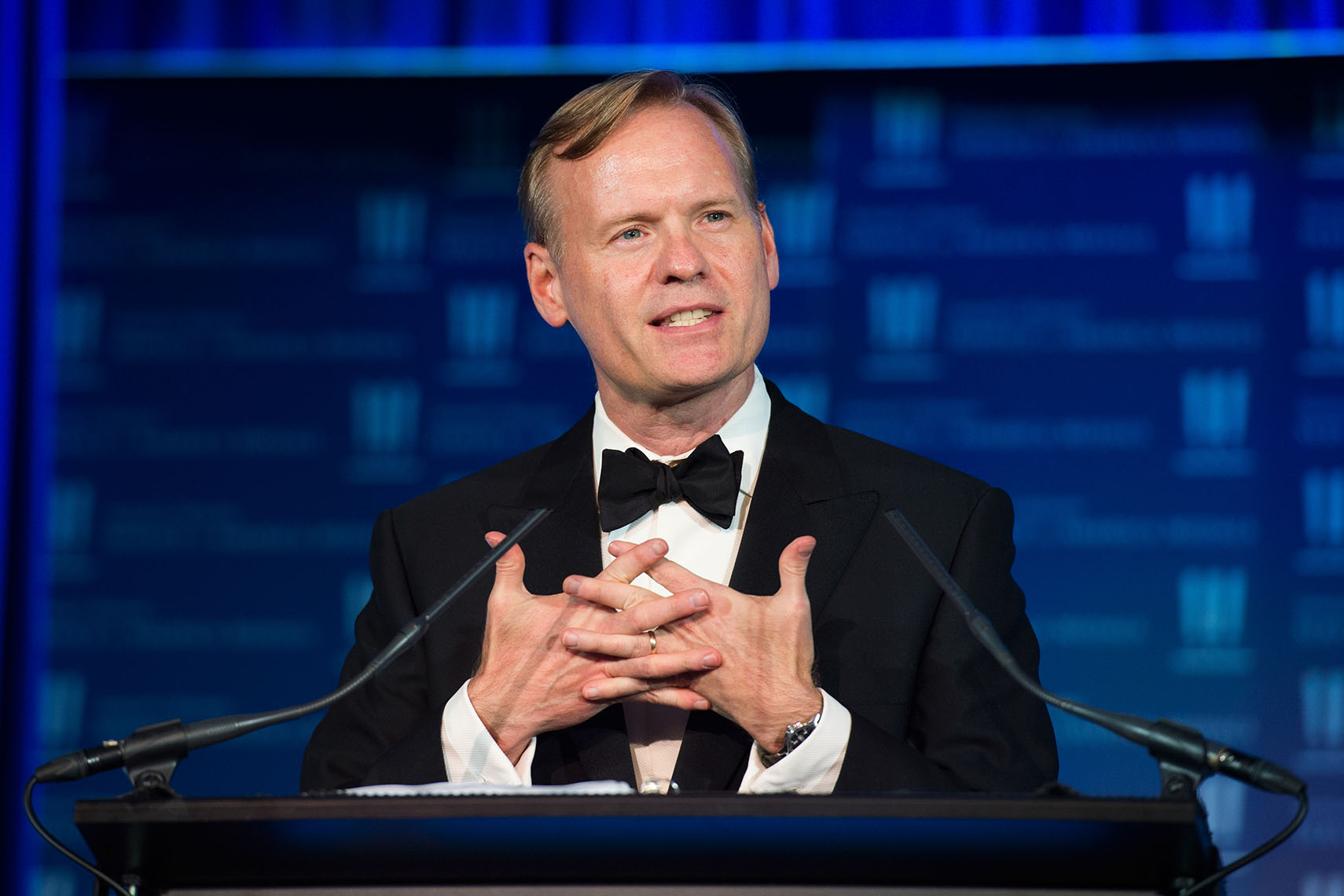 John Dickerson at the 2017 Sammies Awards
