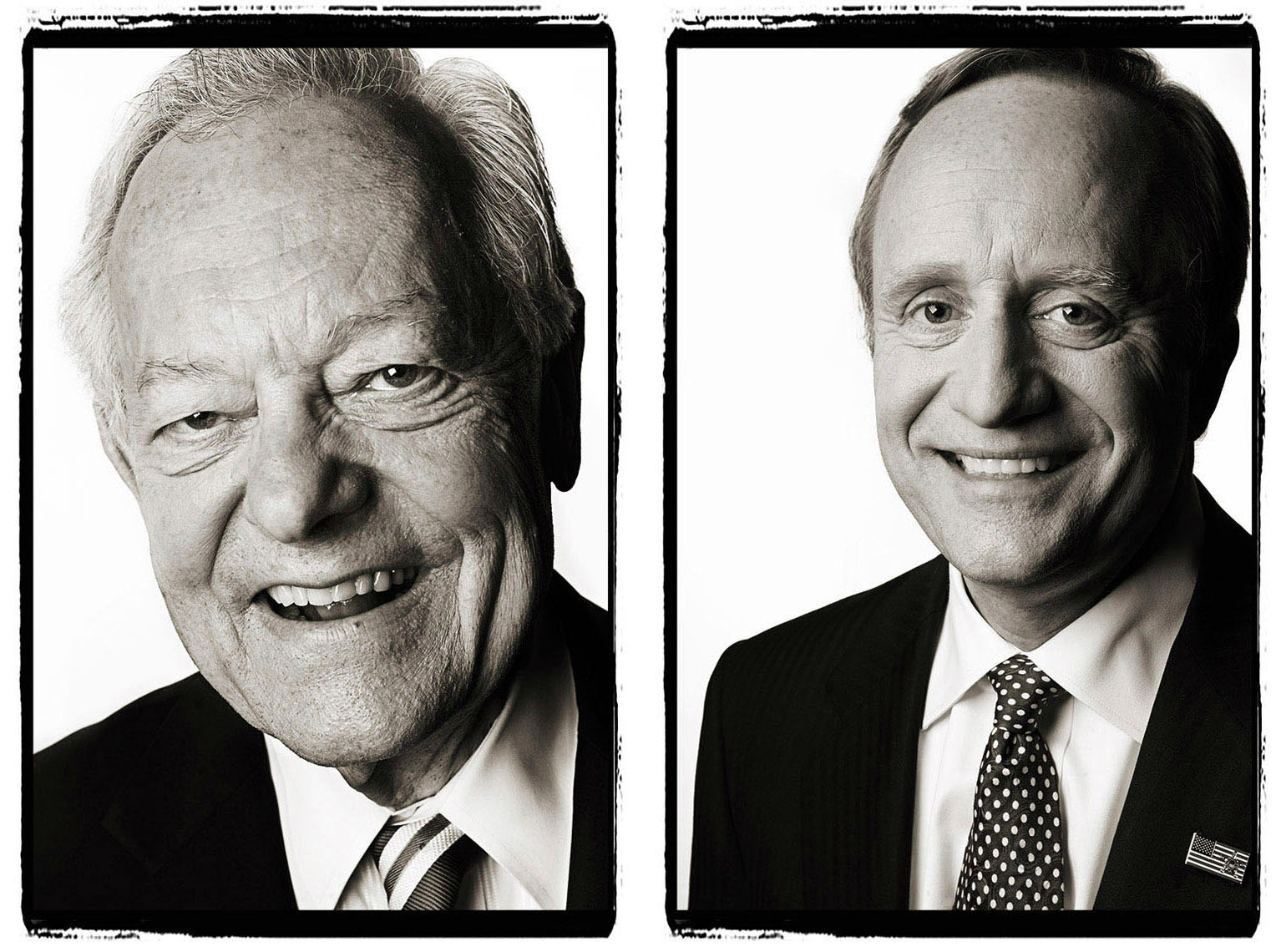 Bob Schieffer and Paul Begala | District of Columbia Photographer Aaron Clamage
