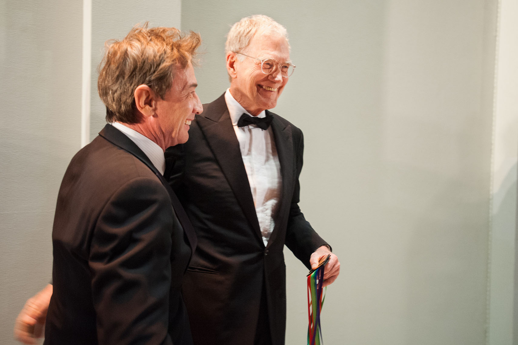 Martin Short and David Letterman | Washington Photographer Aaron Clamage