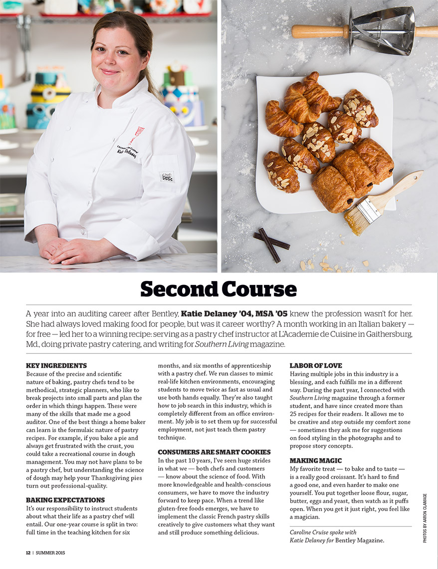 Pastry Chef Katie Delaney