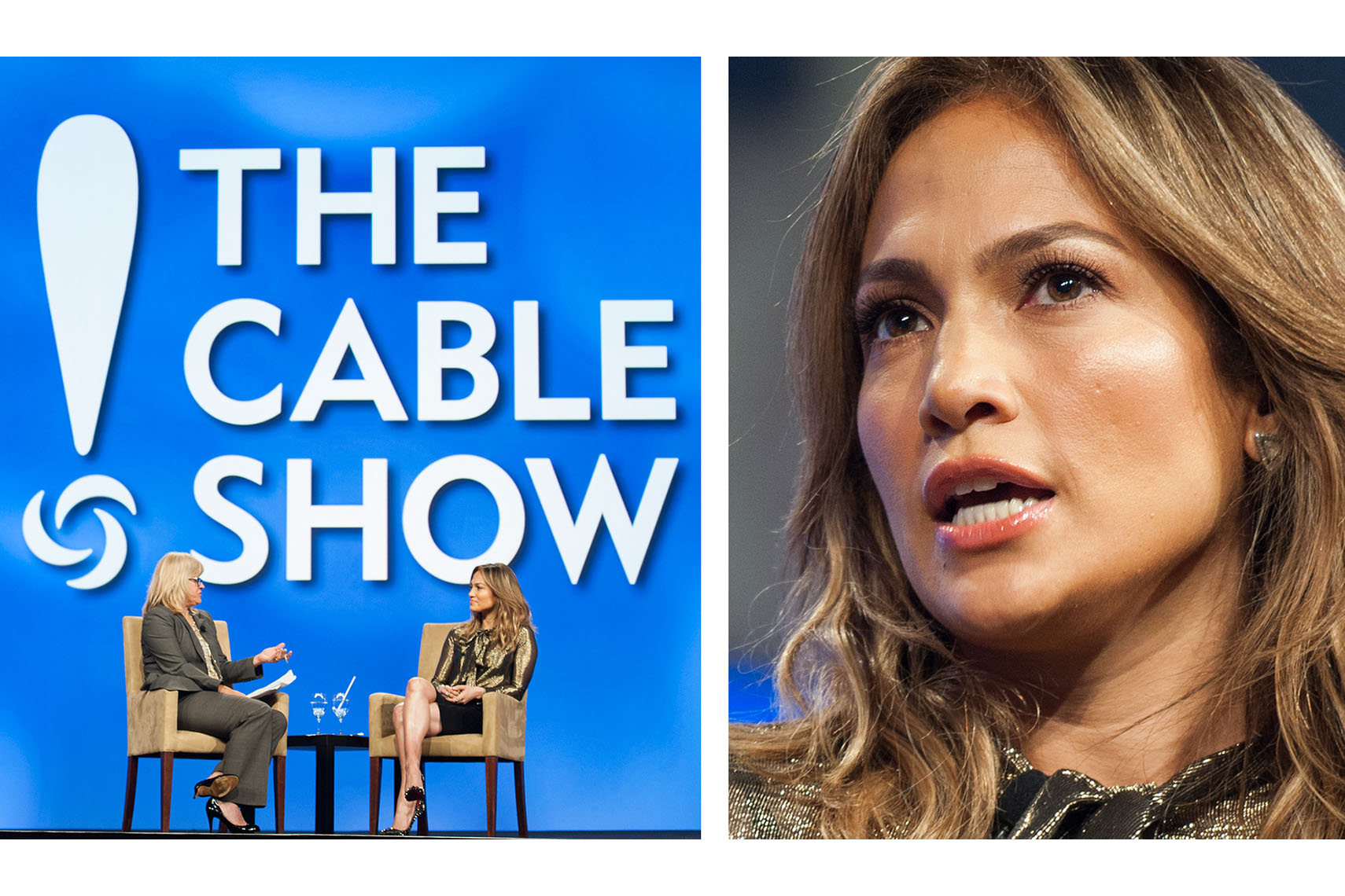 Jennifer Lopez speaking for NuvoTV
