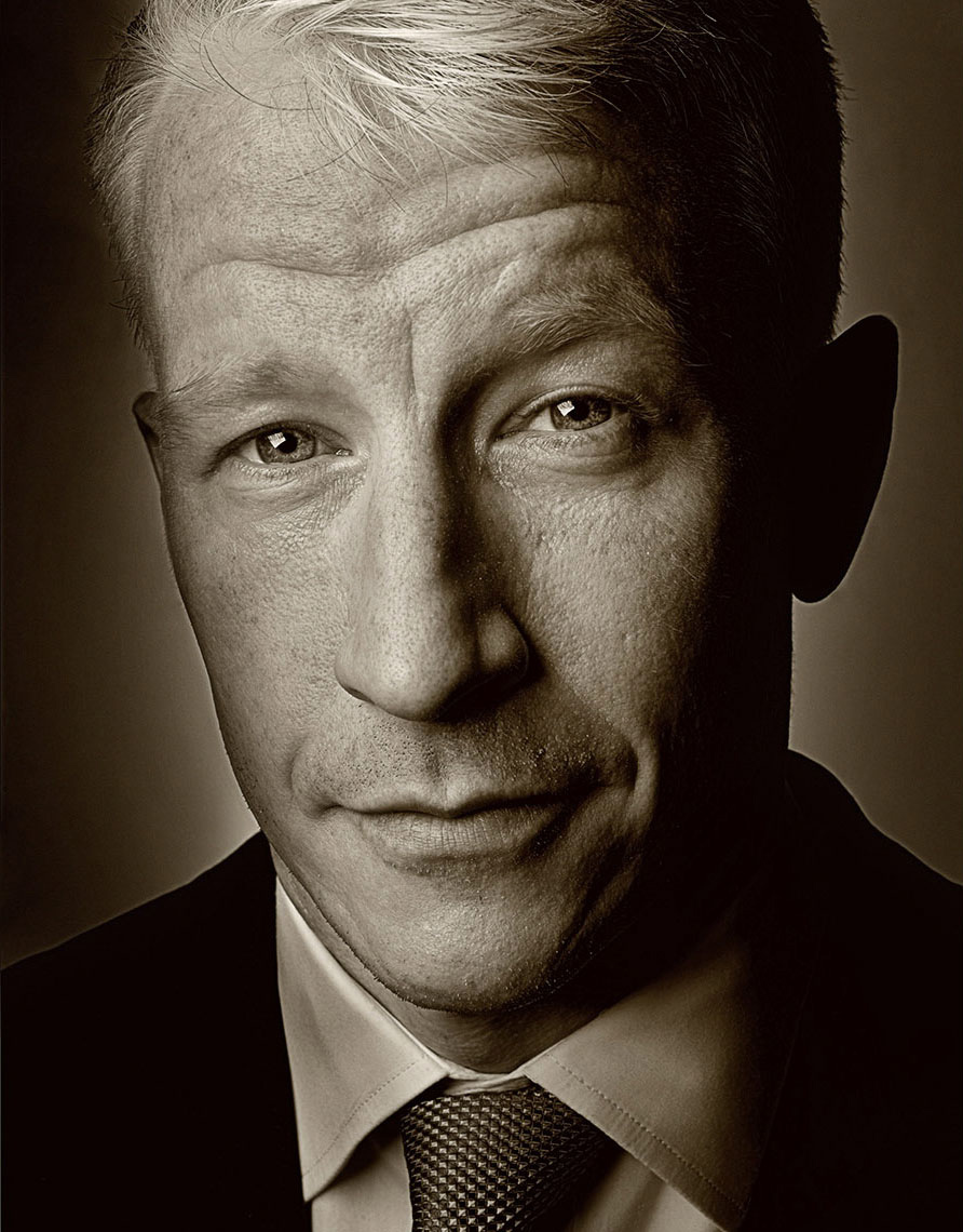 Portrait of Anderson Cooper | District of Columbia Photographer Aaron Clamage